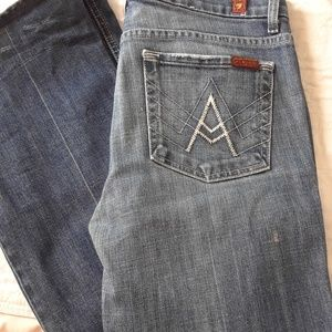 """27x31 """"A"""" JEANS 7 FOR ALL MANKIND"""